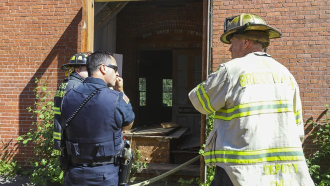 East Bridgewater firefighters responded to a small fire in the rear of the first floor of the abandoned part of the building at 15 Whitman St. on Sunday, June 14, 2020. The building is primarily a UHaul storage facility. The cause of the fire is currently under investigation.