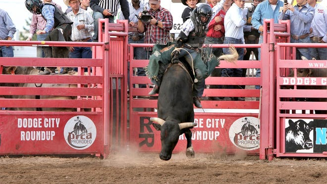 Dodge City Roundup Rodeo will have a full schedule events starting with Xtreme Bulls on Tuesday, July 28 through Sunday, Aug. 2.
