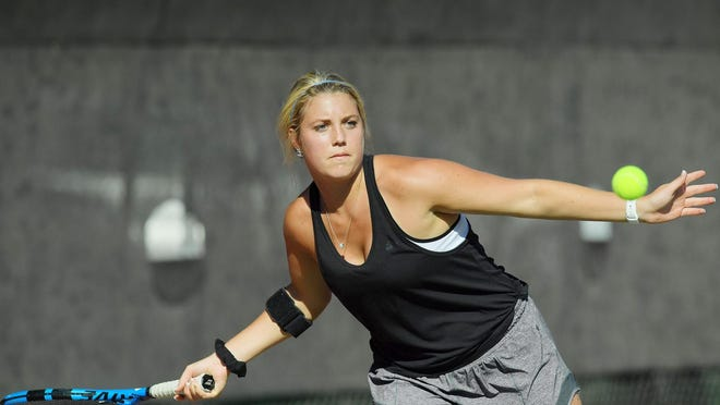Former Hayden multi-sport star Brooklyn Hunter, now playing tennis at Nebraska-Kearney, was picked No. 46 on The Topeka Capital-Journal's list of the Top 125 Shawnee County Athletes.