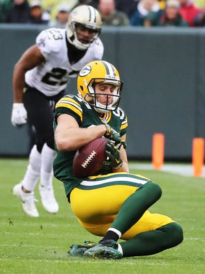 Jordy Nelson has not topped 100 receiving yards in 13 consecutive games.