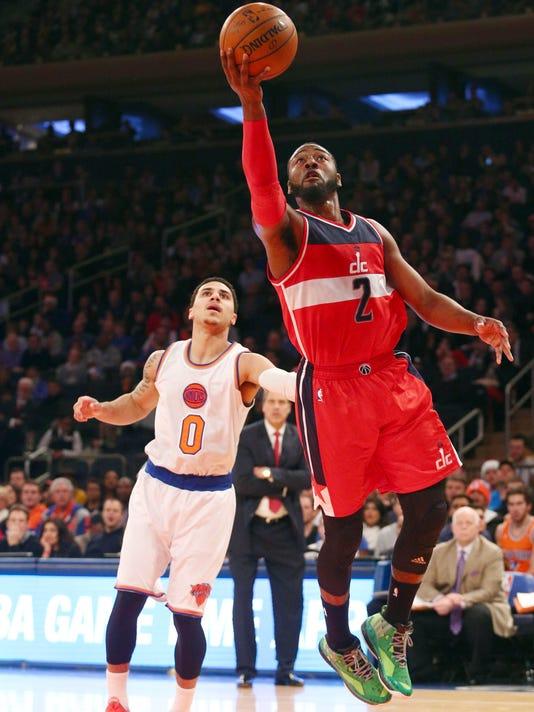 John Wall, Wizards outclass Knicks, 102-91
