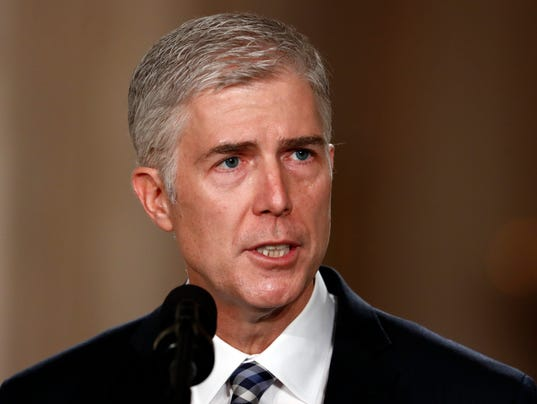 Will Gorsuch Give Them Rubber?