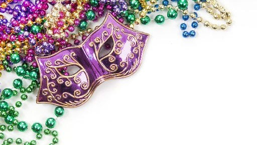 Mardi Gras Ball Dance social with smooth, Latin, Swing and Country music.