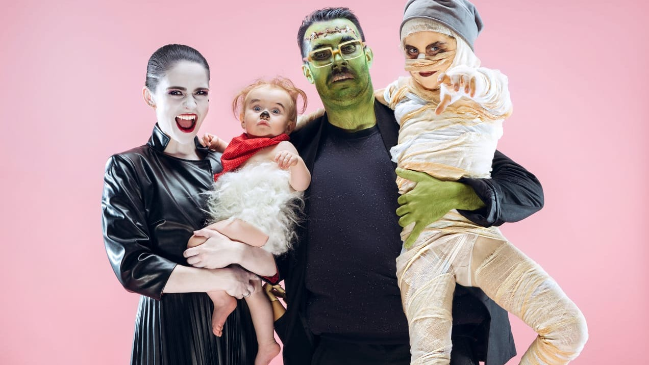 14 cute family Halloween costume ideas that are easy to pull off