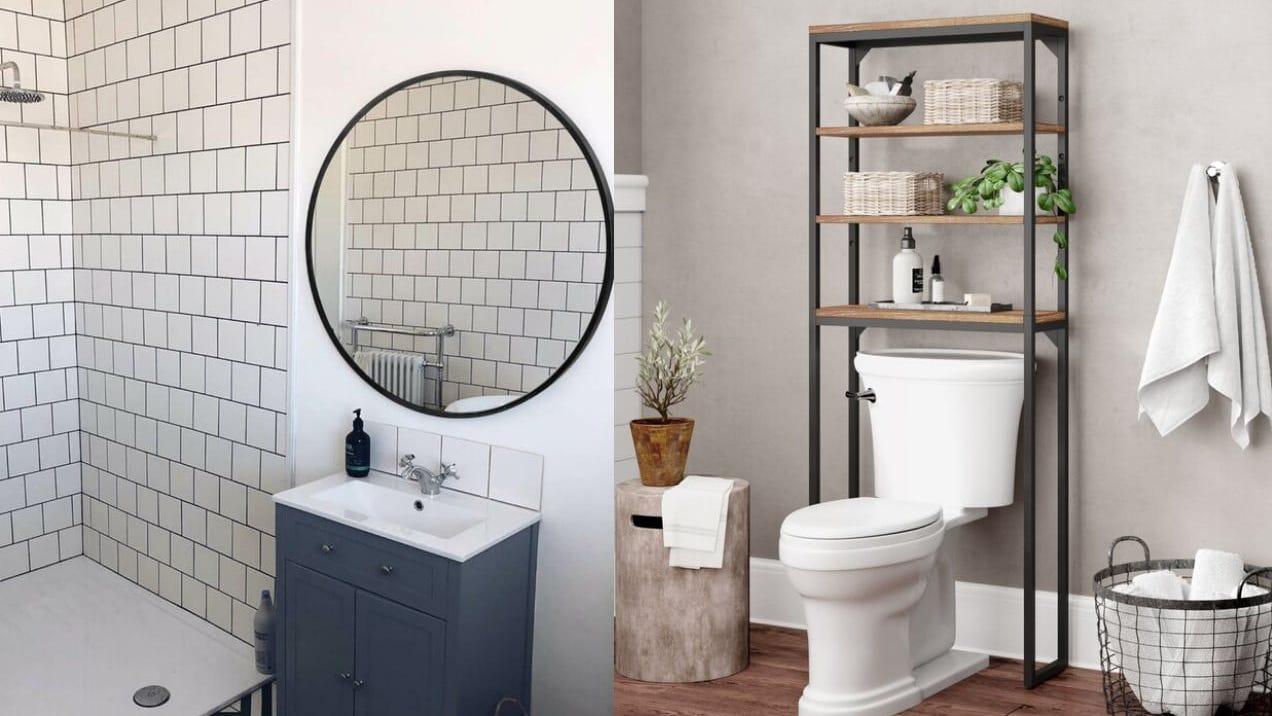 20 genius ways to make your tiny bathroom feel bigger