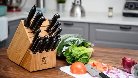 Get a new set of knives, a new cookie sheet, or an air fryer you've been eyeing.