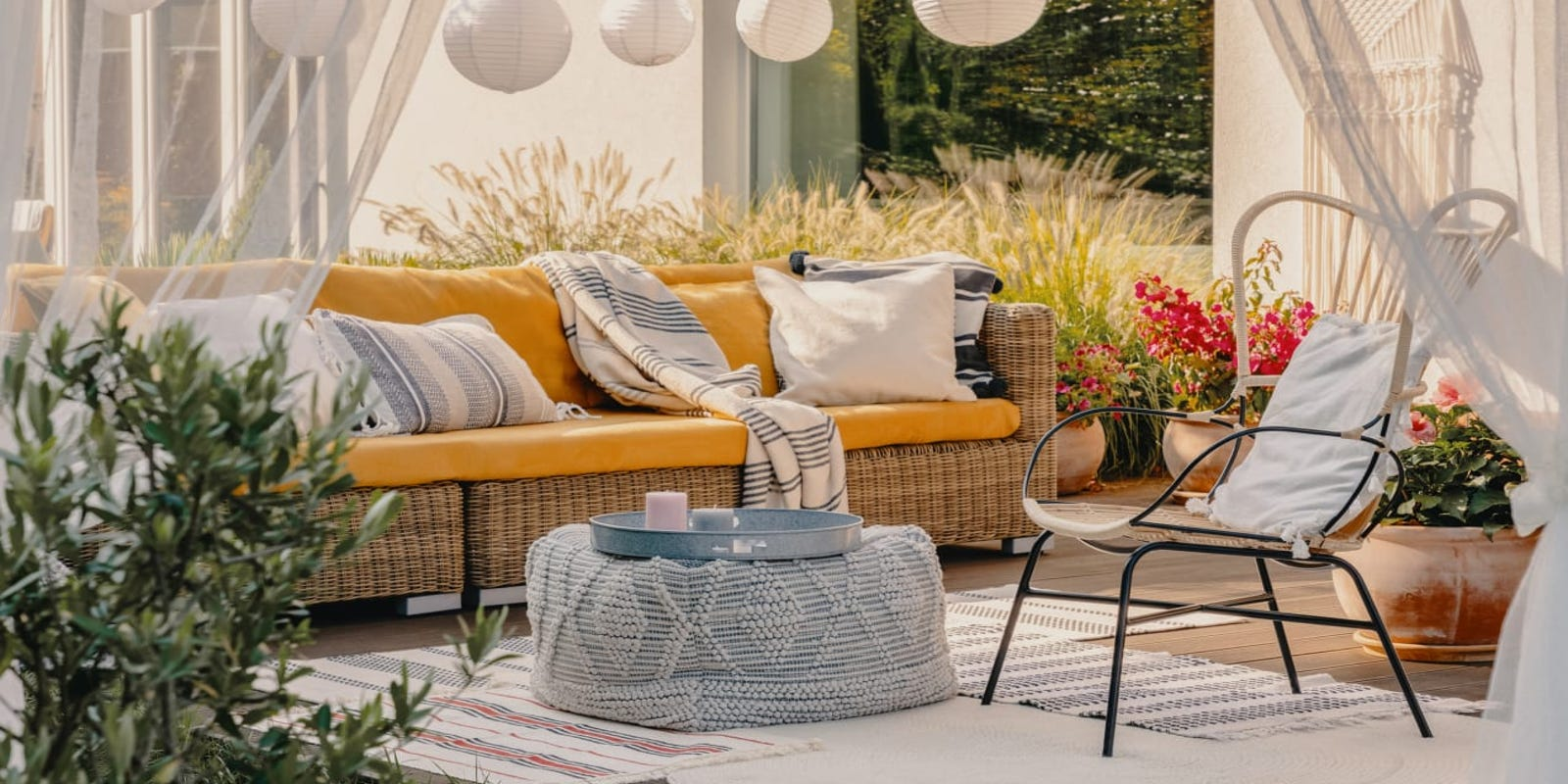 Patio furniture is hugely discounted right now for Overstock's Semi-Annual Sale