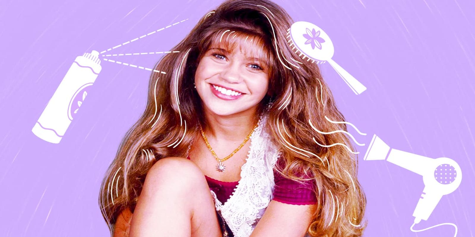 Boy Meets World's Danielle Fishel shares her secrets to Topanga hair