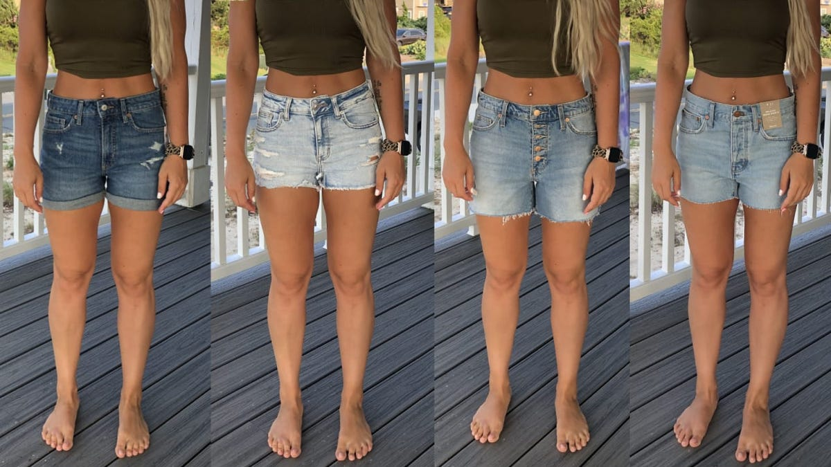 I tried the same size shorts from 5 brands—and they all fit differently