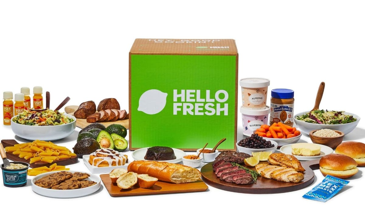 HelloFresh just launched pantry items—and I can't get enough