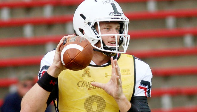 Hayden Moore was officially named UC's starting quarterback.