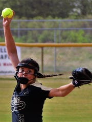 Clyde's 10-0 win at Colorado City on Friday, April 13, 2018.
