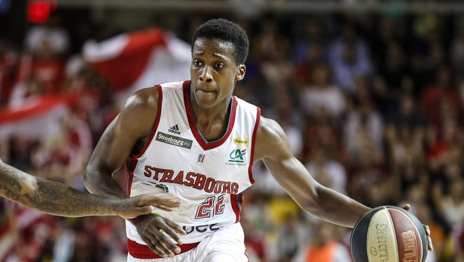 9. Dallas: PG Frank Ntilikina. Age: 18. Country: France. Size: 6-5, 170 pounds. The word: He moves ahead of N.C. State's Dennis Smith in the point guard rankings.