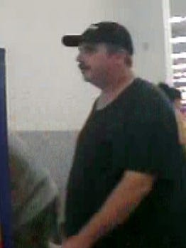 West Des Moines police are looking for a man suspected of using a stolen credit card in West Des Moines, officials said Tuesday, Sept. 20, 2016.