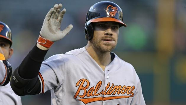 Chris Davis recently signed a seven-year contract with the Baltimore Orioles.