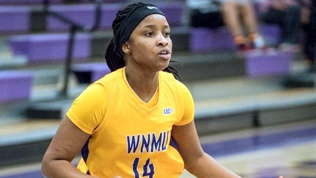 Jayla Brown went for 17 points, making 6-13 from the field against ENMU in the last contest played.