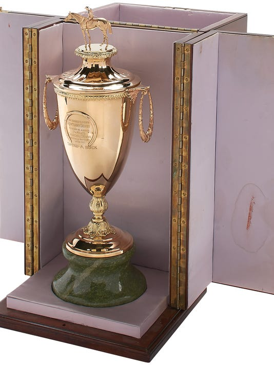 stolen kentucky derby trophy - 534×712