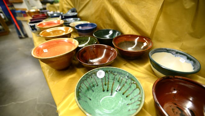 Empty Bowls, the annual pottery sale that raises money for hunger relief, is happening 9 a.m. to 4 p.m. Saturday, Nov. 21, and noon to 4 p.m. Sunday, Nov. 22, at Willamette Art Center on the Oregon State Fairgrounds.
