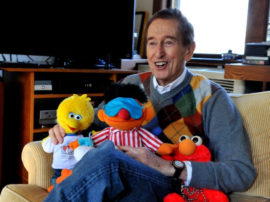 In this 2014 file photo, Bob McGrath is pictured at his home in Teaneck.