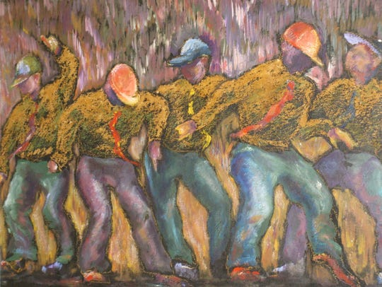 "Marina Brown's ""Shoe Shine Boys"" is part of the ""Dance"