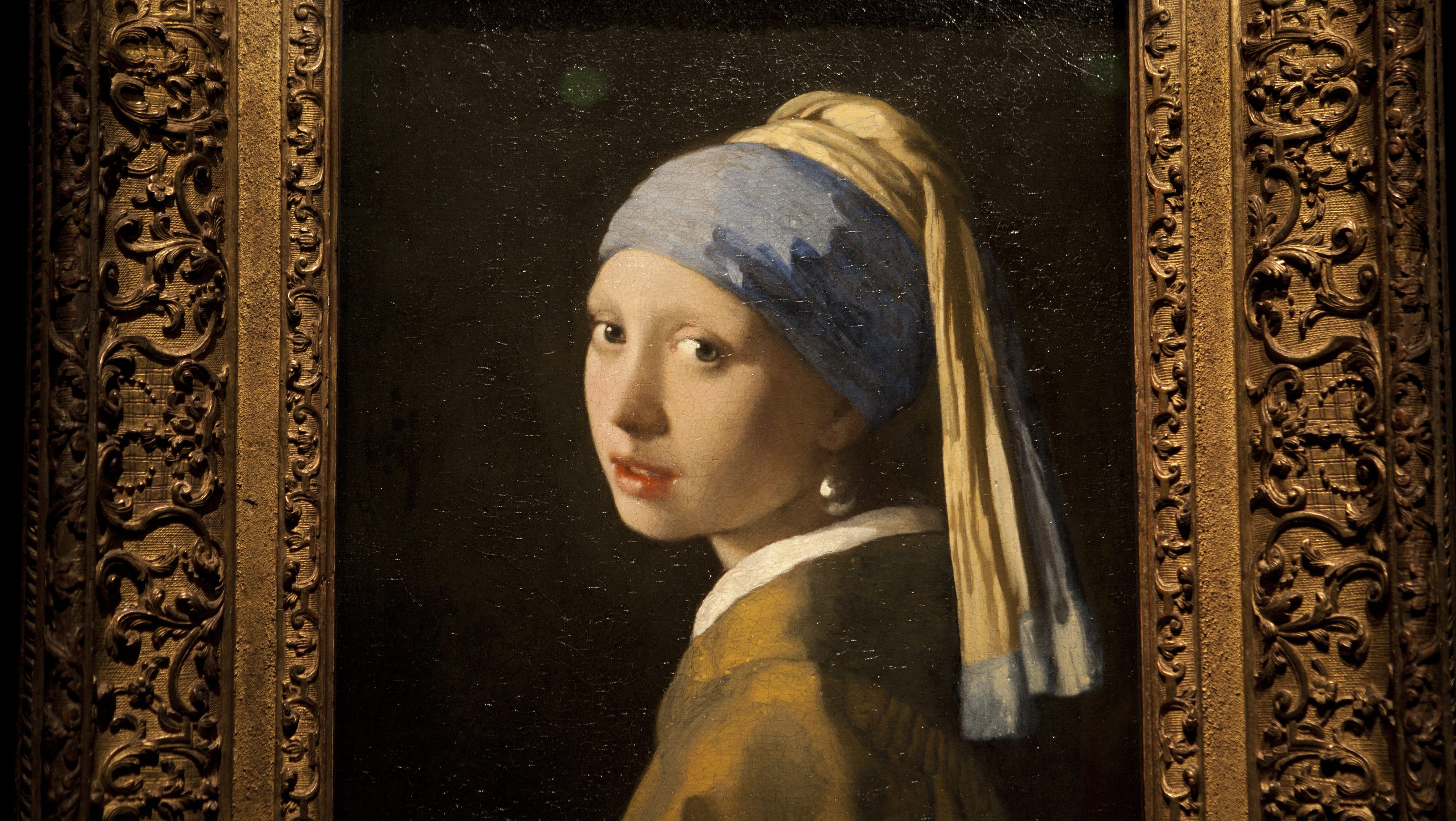 disputed painting is a real vermeer  science shows