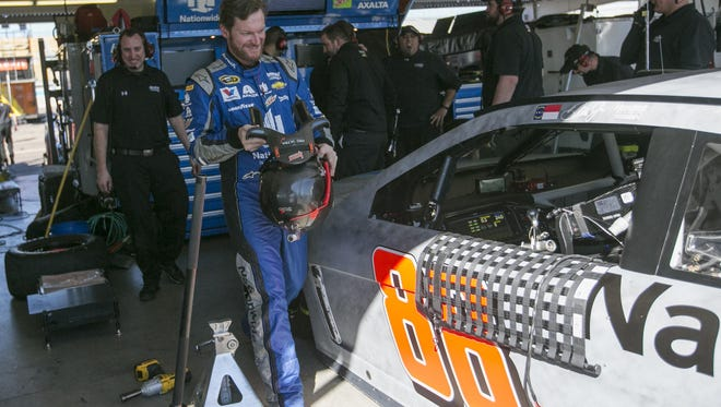 Dale Earnhardt Jr. will be back to racing for the first time since July.