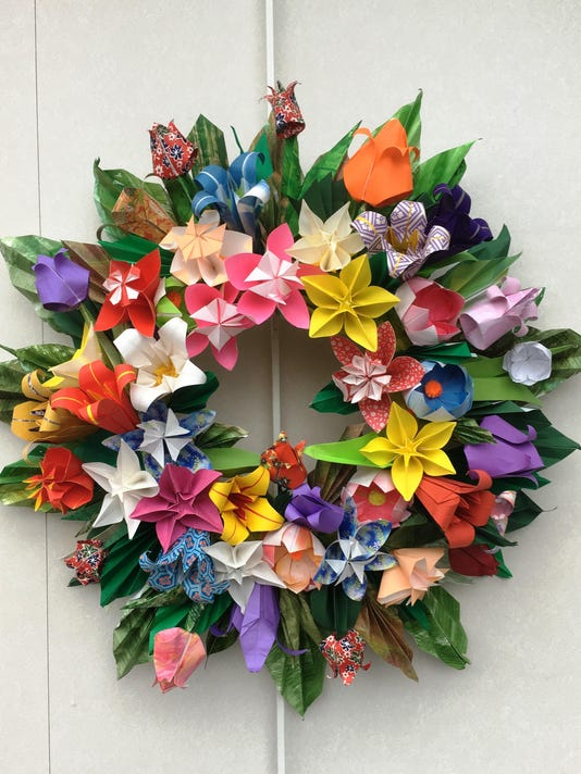 Origami Wreath- Joy Ann Cabanos
