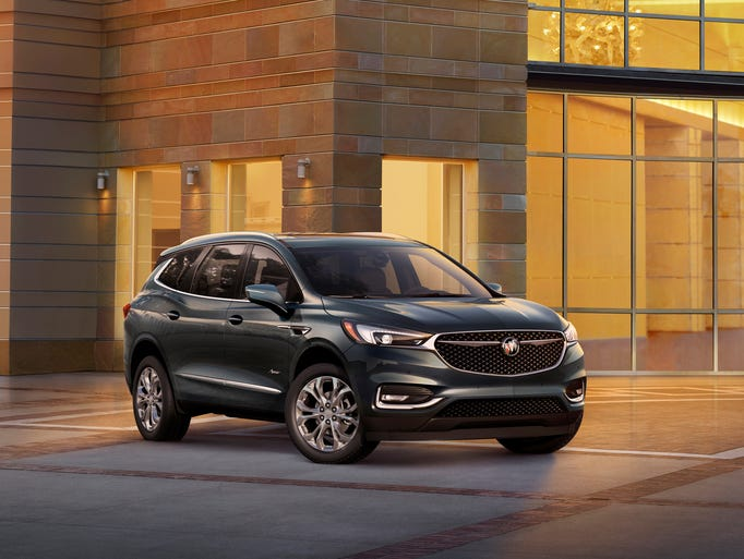 Buick debuted its ultra-premium 2018 Enclave Avenir