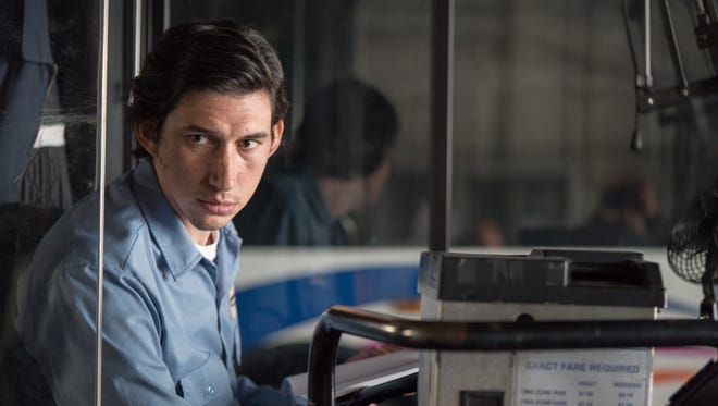 """Adam Driver plays a poetry-writing bus driver in """"Paterson."""""""
