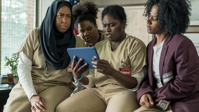 'Orange Is The New Black' returns for a fifth season on Netflix.