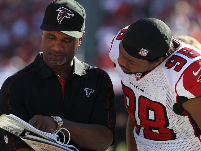 November 25, 2012; Tampa, FL, USA; Atlanta Falcons