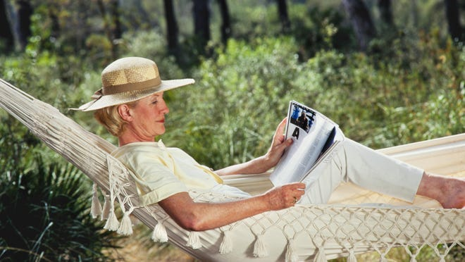 In hot summer months, give your horse a break and catch up on your equine reading.