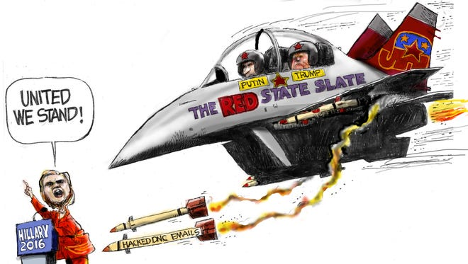 Cartoon for July 26, 2016.