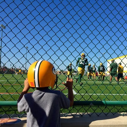 Some join the Green Bay Packers family, some are born into it. Training camp kicked off Tuesday, July 26, 2016.