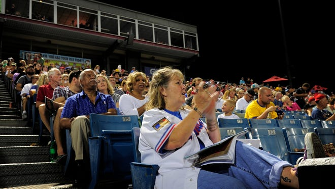 """Patti Zimmerman used to work at Greer Stadium. """"It's a special place, and I'm going to miss it,"""" she says."""