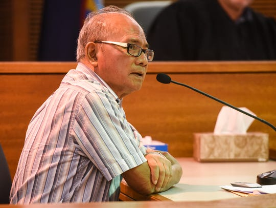 Guam Chief Medical Examiner Dr. Aurelio Espinola appears