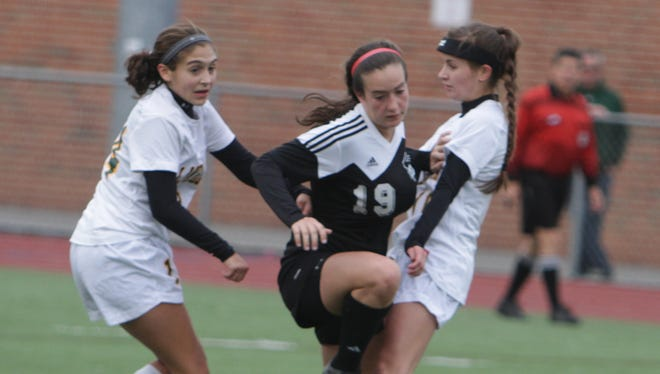 Lakeland defeated Rye 1-0 in sudden death overtime in a Section 1, Class A game at Lakeland High School on Saturday, October 24th, 2015.