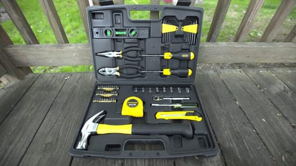 Stanley 65 Piece Homeowner's Tool Kit