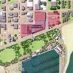 Proposed Mississippi Aquarium site