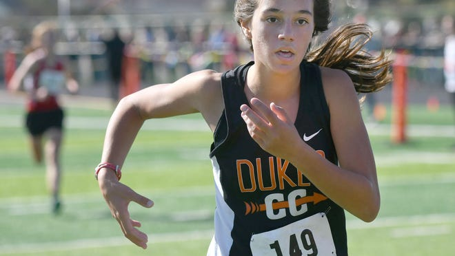 Marlington sophomore Bella Graham already has two wins at Eastern Buckeye Conference meets.