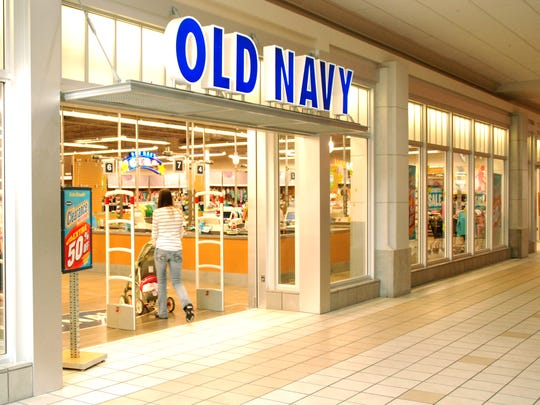 Exterior of Old Navy store at the Muncie Mall on Tuesday, March 2, 2010.  It closed that year.