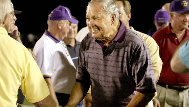 Legendary football coach Tom Nix  compiled 239 victories in a 32-year career on the sidelines, 29 at Christian Brothers High School.