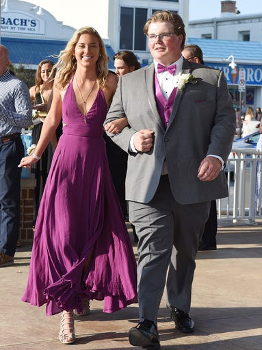 Cape Henlopen High School held their prom on Saturday,