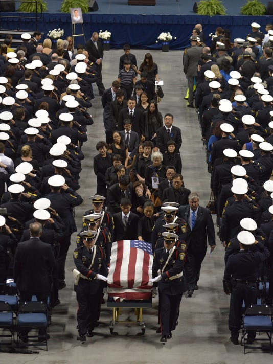 Funeral of Cincinnati Police Officer Sonny Kim