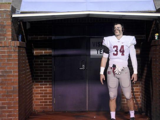 Montgomery Bell Academy senior Jackson Hannah is among the top returning Nashville area linebackers for the 2018 high school football season