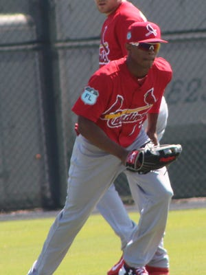 Magneuris Sierra is the top-rated prospect coming to the Palm Beach Cardinals team.