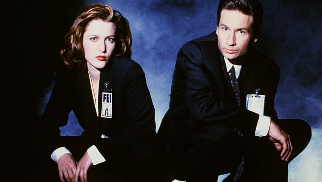 """Mulder (David Duchovny) and Scully (Gillian Anderson) will be back investigating paranomal cases in Fox's revived """"X-Files."""""""