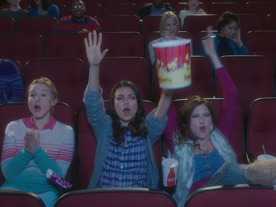 """""""Bad Moms"""" stars Mila Kunis, Kathryn Hahn and Kristen Bell."""