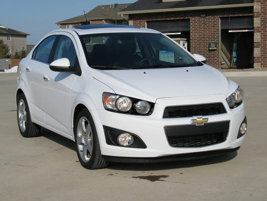 Subcompact Performer 2014 Chevrolet Sonic Turbo Sedan
