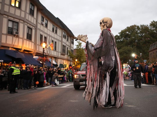 The Village of Tarrytown held their 14th annual Halloween